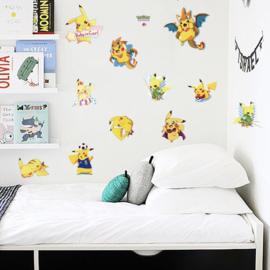 Pokemon muursticker kinderkamer (3)