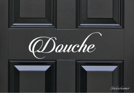Decoratiesticker douche