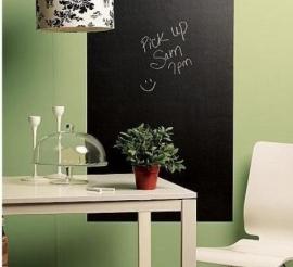 Muursticker Blackboard/krijtbord sticker groot 200 cm X 45 cm