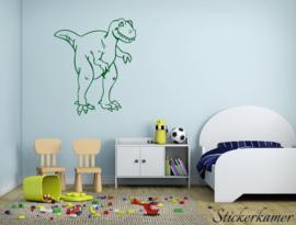Muursticker dinosaurus