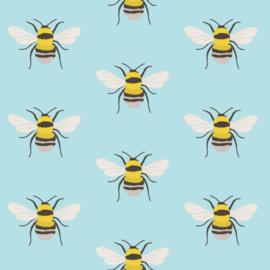 Behang - bij - bijen motief / patroon
