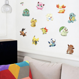 Pokemon muursticker kinderkamer (2)