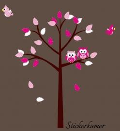 Boom meisjeskamer (roze)