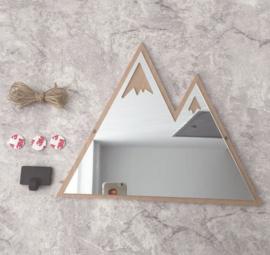 Spiegel nordic berg kinderkamer