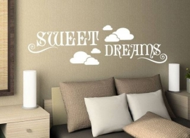 sweet dreams met wolken