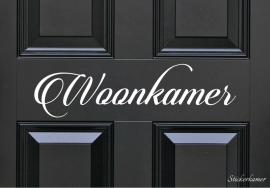 Decoratiesticker woonkamer