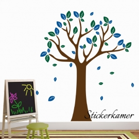 Muursticker boom XL (Kies uw eigen kleur)