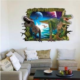 Muursticker dinosaurus kinderkamer - jongen