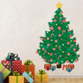 Muursticker kerstboom