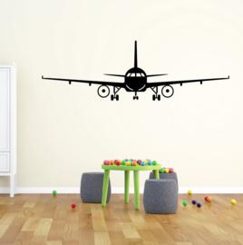 Muursticker vliegtuig boeing kinderkamer
