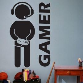 Stickers enfant gamer