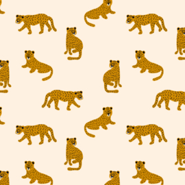 Behang - luipaard motief / patroon