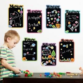 Kids krijtbord blackboard sticker