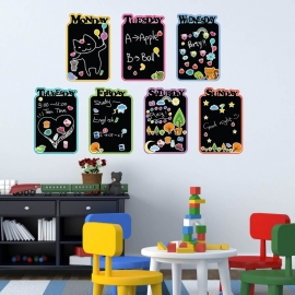 Kids krijtbord blackboard sticker