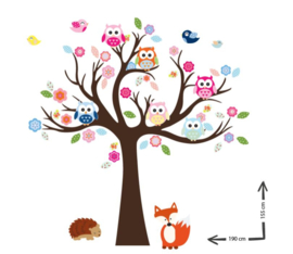 Muursticker cuddle tree Smits