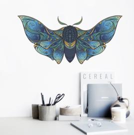 Muursticker vlinder exclusief