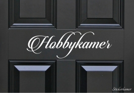 Decoratiesticker hobbykamer