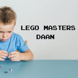 Lego masters naamsticker kinderkamer
