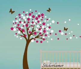Wall Sticker fleur XXL (choisir votre propre couleur)