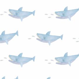 Behang - haai motief / patroon