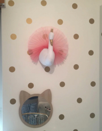 Muursticker stippen cirkels print / patroon  kinderkamer - babykamer