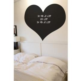 Blackboard / krijtbord hart