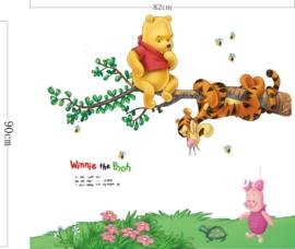 Winnie the pooh muursticker