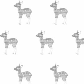 Behang - hert motief / patroon