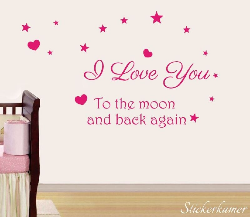 I love you to the moon and back again