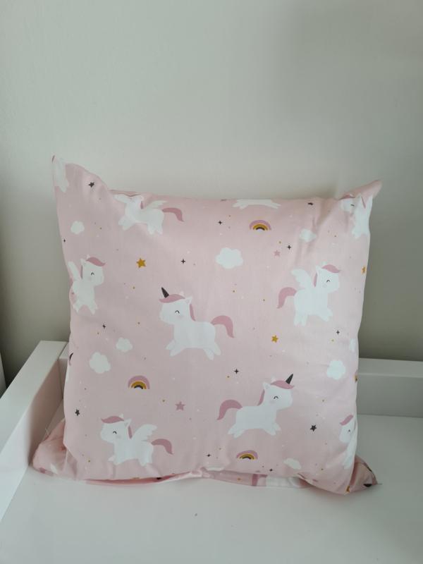 Unicorn kussen kinderkamer 40 x 40 cm