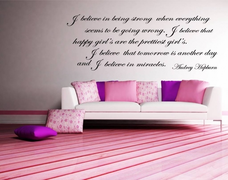 Audrey Hepburn - I believe in being strong when everything seems to be going wrong...