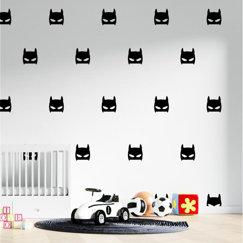 Muursticker batman print / patroon
