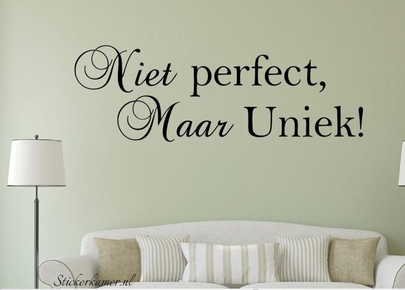 Niet Prefect, Maar Uniek!