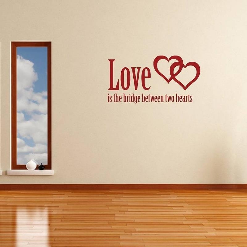 Love is the bridge between two hearts