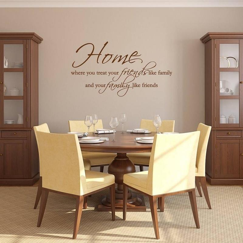 home where you treat friends like family and family like friends