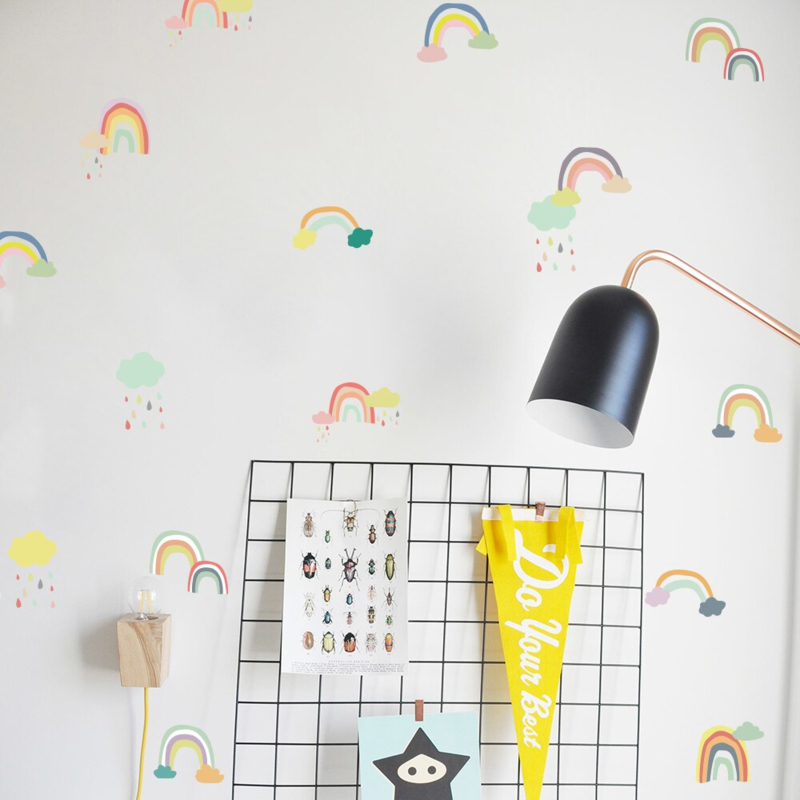 Muursticker regenboog mini regenbogen