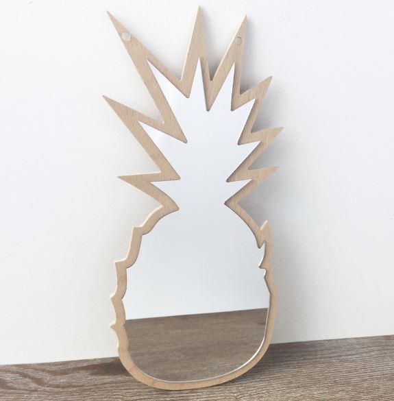 Spiegel ananas kinderkamer