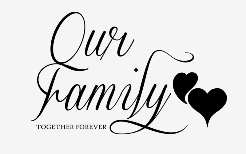 Our family together forever