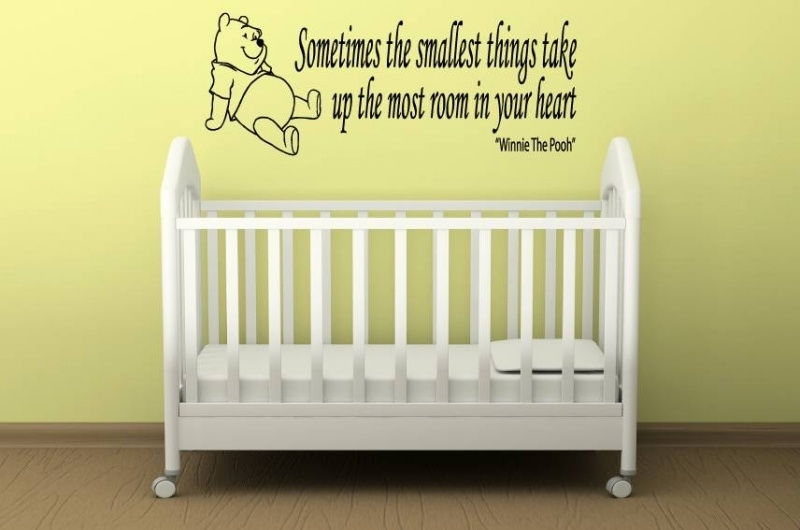 Winnie de Pooh: Sometimes the smallest things take up the most room in your heart