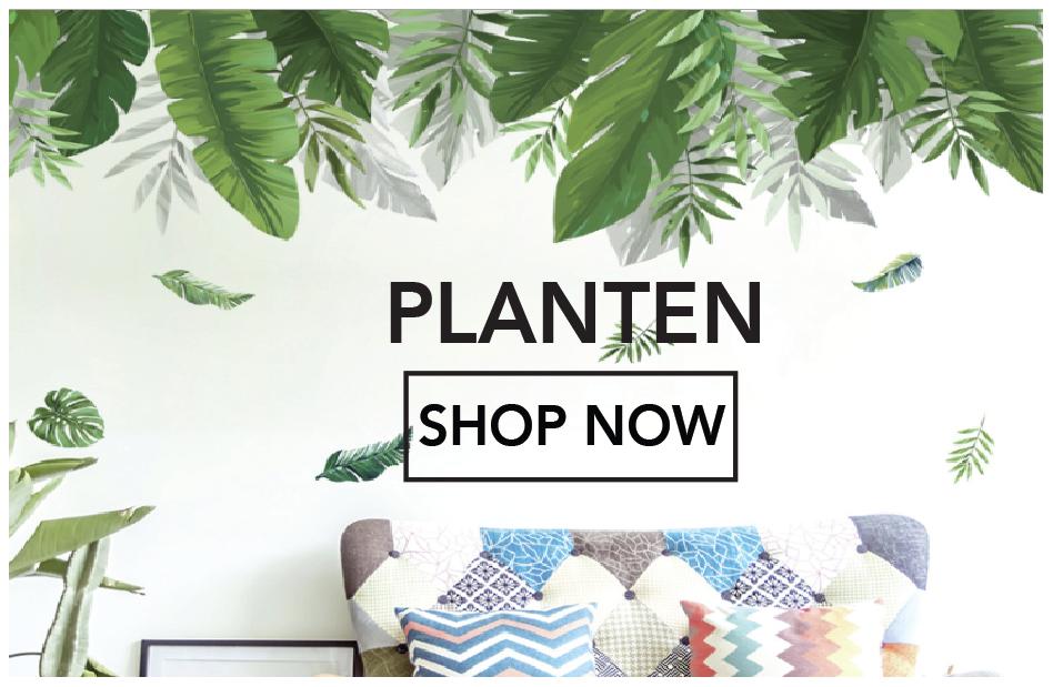 Muurstickers planten