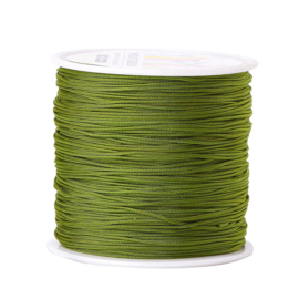 Macrame satin 0.8mm olive