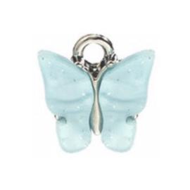 Bedel vlinder azure zilver