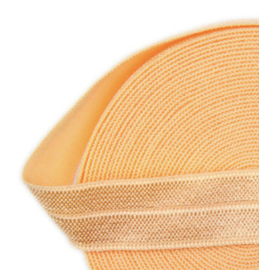 Elastiek light orange 15mm