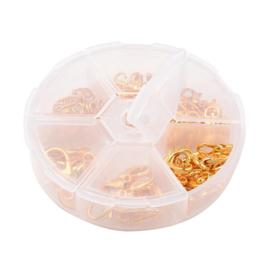 Karabijnsluiting box goud