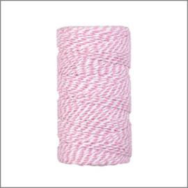 Twist koord roze
