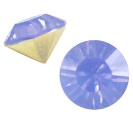 Puntsteen SS29 sapphire blue opal (BQ)