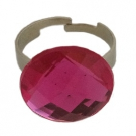 Ring steen roze