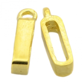 Slider bail antiek gold