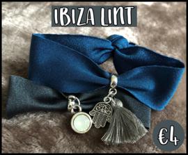 Ibiza lint DIY pakket blauw/grijs