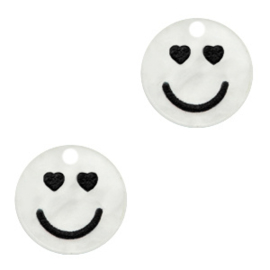 Plexx bedels smiley hearts Shiny white